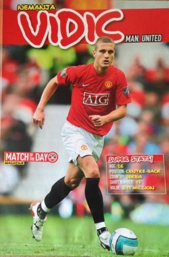 motd-match-of-the-day-football-magazine-picture-manchester-united-vidic-aig-kit