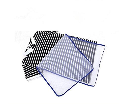 Homiki 1pc panno da stiro poliestere lunghezza resistente al calore engrener abbigliamento protezione panno da stiro 40x 40x 90cm in rete bianco