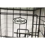 Easipet Dog Puppy XXLarge Black Metal Training Cage Crate 48 11