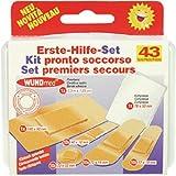 WUNDmed® 05-008 Erste Hilfe Set 43tlg.Box Pflaster Kompresse