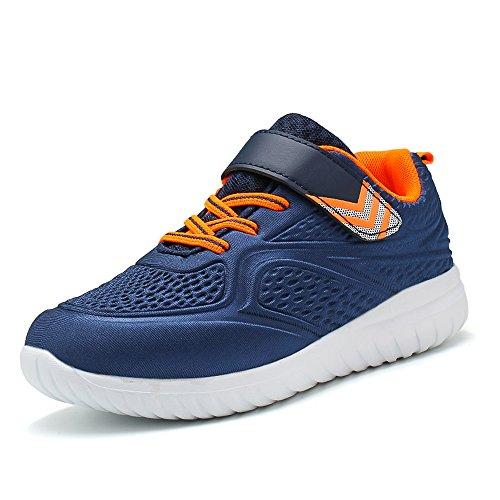 Idea Frames Jungen Schuhe 3D Traillaufschuhe Leicht Outdoor Sneaker Kleinkind Jugendliche Blau 37 EU