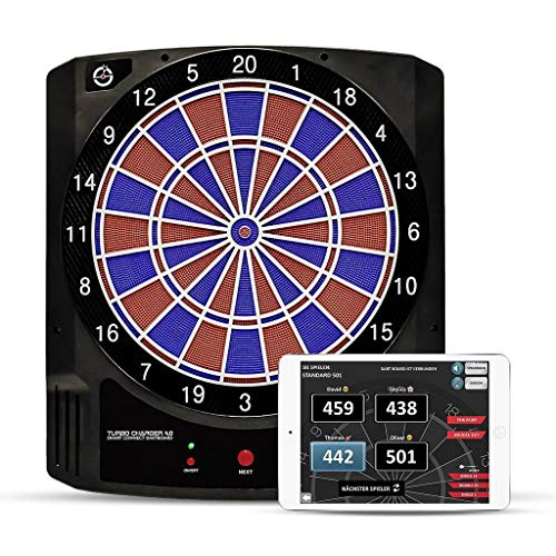 Carromco 94014 Elektronik APP Dartboard Turbo Charger