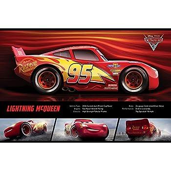 3 Jackson Storm Stats Poster Plakat Druck Größe 61x91,5 cm Disney Cars