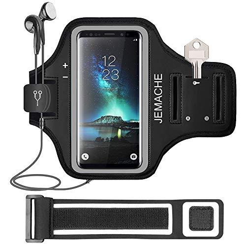 Galaxy Note 9/8 Fascia Da Braccio, JEMACHE Running/Esercizio/Allenamento Sportiva Bracciali Armband per Samsung Galaxy Note 5/8/9 con Chiave/Supporto di Porta...