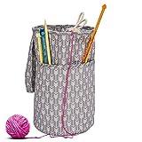 Outtybrave a Mano all' Uncinetto Lana Maglione ago Uncinetto Storage Bag Sewing Supplies Storage Borsetta, S, Small