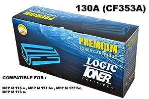 797081be8526 ... Logic 130A-CF353A Magenta Toner Cartridge for HP Color Laserjet Pro MFP  M 176 n, MFP
