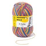 REGIA 4-fädig Color 9801269-03726 exotic Handstrickgarn, Sockengarn, 100g Knäuel