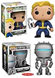 "Funko POP! Fallout: Locksmith + Fallout 4: Liberty Prime 6"" – Vinyl Set NEW"