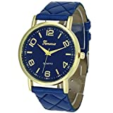 Montre Femme Bracelet En Cuir Analogique Quartz Montres Femme Style élégant de luxe...