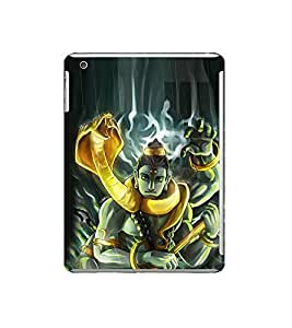 Fuson Designer Back Case Cover for Apple iPad Mini 3 :: Apple iPad Mini 3 Wi-Fi + Cellular (3G/LTE); Apple iPad Mini 3 Wi-Fi (Wi-Fi, W/o GPS) (Bhairav Pashu pathi Ganga dhar Vama Deva Kapalin )