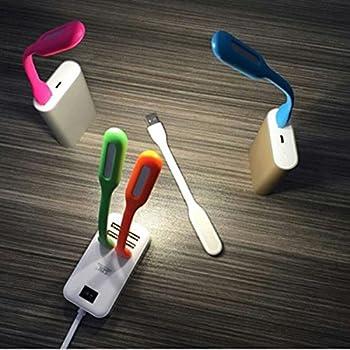 Warm Mini Portable USB LED Light (Set of 4)