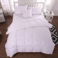 Unite–20% piumino trapunta/comforter/duvet, 100% cotone biologico, 13.5Tog