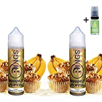 E Liquid Rings Bananut Muffin 50ml (Pack 2 unidades) - 70vg 30pg - booster