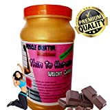 Muscle Creator nutrition's (thin to heroine) weight gainer for women chocolate 1 kg
