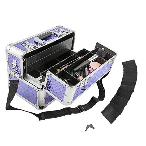 Etagenkoffer Beauty Case Kosmetikkoffer – in vielen Farben lieferbar - 7