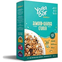Yogabar Wholegrain Breakfast Muesli - Almond + Quinoa Crunch, 400g