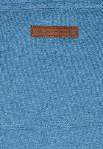 Naketano Male Hoody Lennox X Light Blue Melange