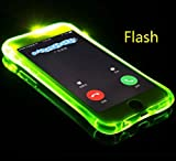 TAITOU iPhone X Case, Cool Flashing Light UP to Remind Incoming Call Slim Cover by...