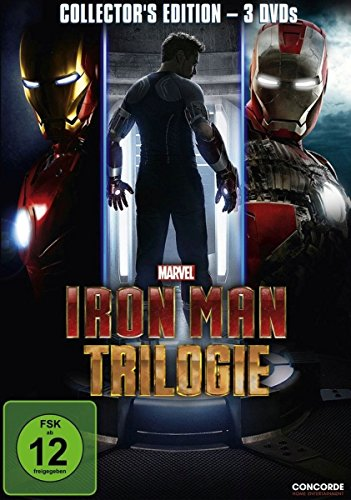 Iron Man Trilogie (Collector's Edition) [3 DVDs] (Empfänger 2 Klasse)