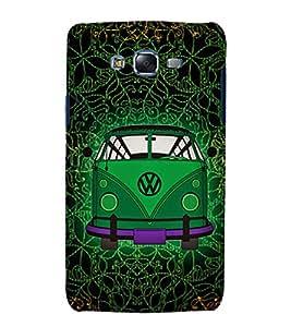 Indian Auto Van Fashion 3D Hard Polycarbonate Designer Back Case Cover for Samsung Galaxy J5 (2015) :: Samsung Galaxy J5 J500F (Old Version)