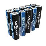 10x ANSMANN 1502-0005 Lithium-Industriebatterie High Energy AA Mignon FR6 L91 LR06 3000mAh 1.5V