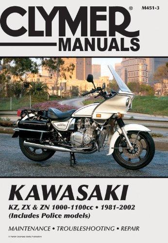 Kawasaki KZ, ZX & Zn 1000-1100Cc (CLYMER MOTORCYCLE REPAIR) por Haynes
