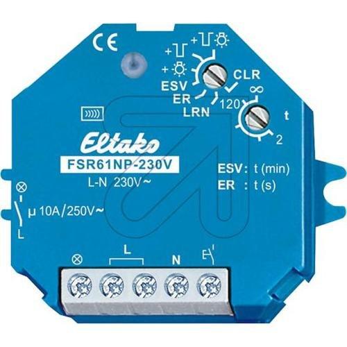 Preisvergleich Produktbild Eltako Aktor Funk Stromstossrelais 1S FSR 61NP-230 V, 4947808