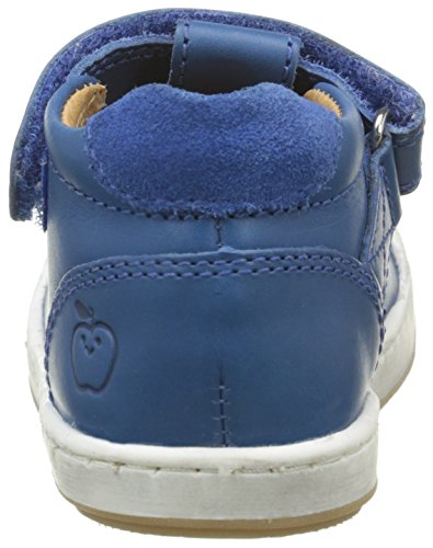 Shoo Pom - Kidur Velcro Sandal, Scarpine primi passi Bimbo 0-24 Blu (Bleu (Cobalt))