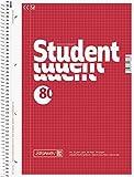 Brunnen 1067942 Notizblock / Collegeblock Student (A4, kariert, 70g/m², 80 Blatt)