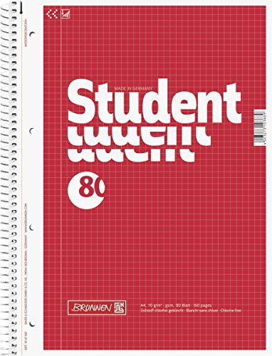 brunnen-1067942-notizblock-collegeblock-student-a4-kariert-70g-m-80-blatt