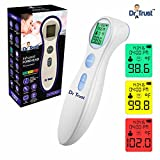 Dr Trust Infrared Forehead Temporal Artery Thermometer (White)
