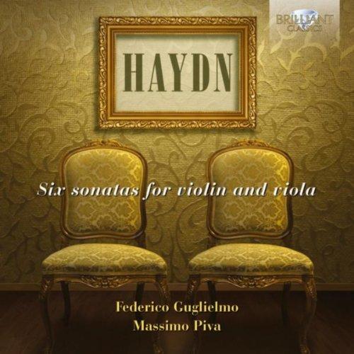 Haydn: Six Sonatas for Violin and Viola (Viola Haydn)