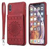 DENDICO Coque iPhone XS Max, Ultra Fine Housse en Cuir pour Apple iPhone XS Max,...