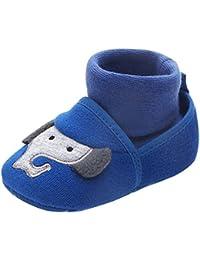 dc8d45705e2 Tongyouyuan - Zapatillas Antideslizantes para Bebé Niños Niñas Unisex con  Suela de Goma Modelo de Animales Zapatos de Casa para Recién…