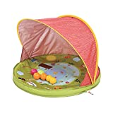 Ludi Anti-UV Protection Tent - Wind and Sun Protection - 6 Balls Included