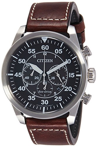 Orologio citizen eco-drive aviator chrono ca4210-16e