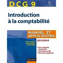 DCG 9 - Introduction à la comptabilité 2015/2016 - 7e éd. - Manuel et applications