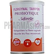 Saforelle florgynal Probiotic Compact Aplicador Tampon 9Mini
