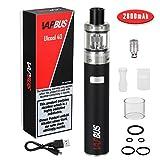 Sigaretta Elettronica, 40w Mod Box Kit Completo 2600mAh Batteria Ricaricabile,Top liquido sigaretta elettronica Set Senza Nicotina Senza Tabacco (Nero)