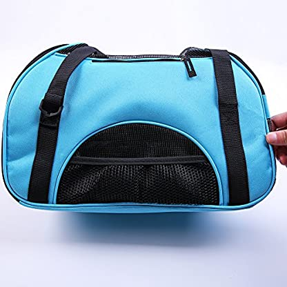 Treat Me Dog Travel Carrier Breathable Portable Easy to Clean 7