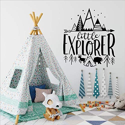 l Wandaufkleber Für Baby Entfernbare Wandtattoos Kinderzimmer Woodland Adventure Home Art Decor 47X42 Cm ()