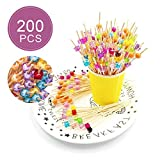 200pcs Cocktailspieße Toothpicks