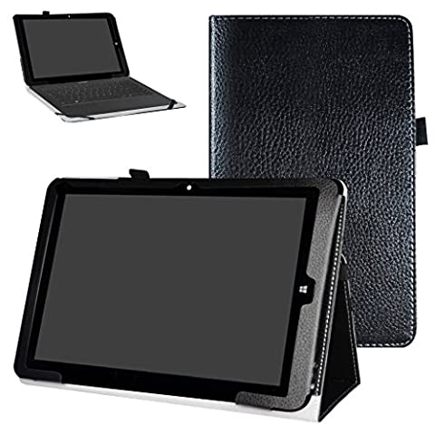 Chuwi Hi12 Case,Mama Mouth PU Leather Folio 2-folding Stand Cover with Stylus Holder for 12