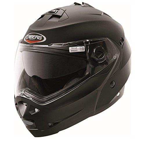 Caberg Casco modulable Duke, color negro mate, talla M