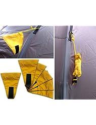 Changement Tents Guy Line Flags 6Drapeaux pour tendeurs pour tente Camping ou | Si ombrage ou Tarp stehts Compagnon Idéal