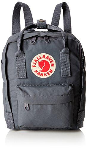 Kanken Mini Rucksack (Fjällräven Unisex-Erwachsene Kånken Mini Rucksack, Grau (Super Grey), 20x13x29 centimeters)
