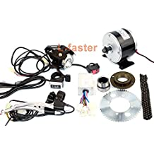 24V 250W Eléctrico Mini Scooter Sistema de transmisión de cadena de motor Eléctrico Pequeño Kit de