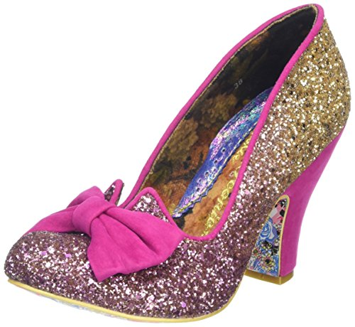 irregular-choice-women-nick-of-time-closed-toe-pumps-pink-pink-gold-6-uk-39-eu