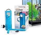Aquaflow Technology AIF-611M - Pompe de filtre pour aquarium submersible pour eau fraîche et eau salée. Pour réservoirs d'aquarium jusqu'à 100 litres. 450L/H 6W