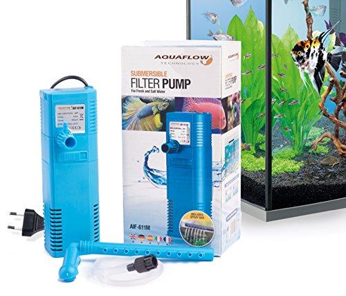 Aquaflow Technology® AIF-611M - Filtro sumergible del tanque de pescados del acuario...